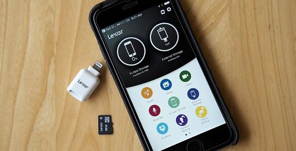 به گوشی آیفون به راحتی هر کارت حافظه میکرواسدی اضافه کنید